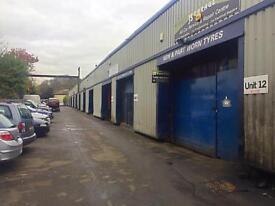 Motor trades/Garage/Warehouse/Workshop Unit To Let