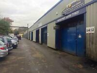 Motor trades/Garage/Warehouse/Workshop Unit To Let