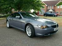 BMW 630 I M SPORT 2006 FULL SERVICE HISTORY