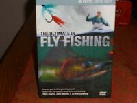8 dvd set boxed The Ultimate in Fly Fishing,in excellent condition