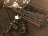 Chinon cm-4 slr camera