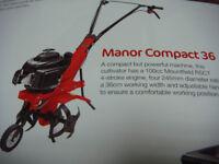 ROTOVATOR /TILLER MOUNTFIELD PETROL MANOR COMPACT 36