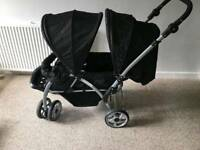 Babystart double pushchair