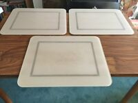 3 xTough Top worktop protectors in Beige