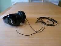 Shure Professional Quality SRH240A Headphones (Unused) - For Sale