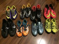 Addidas and nike football boots + superfly sockboots