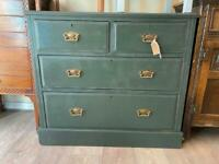 Painted Four Drawer Chest