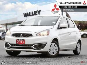 2017 Mitsubishi Mirage ES - A/C, BLUETOOTH, BALANCE OF 10 YEAR W