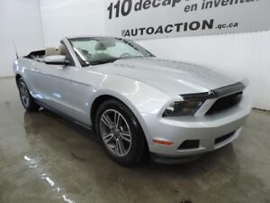 2011 Ford Mustang V6 PONEY PACKAGE DÉCAPOTABLE - ANTI-ROUILLE -