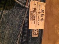 Ralph Lauren jeans.
