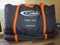 LOOK Quality Gelert Family TENT 6 man 4+2 Cost £300