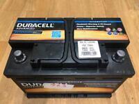 Car Duracell Battery