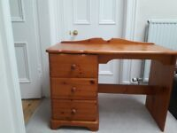 Desk or Dressing Table - super condition - antique pine