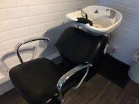 Hair salon basin