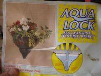 Aqua Lock Hanging Baskets
