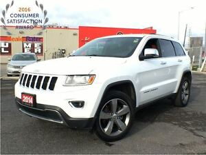 2014 Jeep Grand Cherokee LIMITED**SUNROOF**LEATHER**8.4 TOUCHSCR