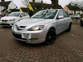 *REDUCED TO SELL TODAY* 2008 Mazda3 1.6 Takara w/ ONLY 77K MILES AND 11 MONTHS MOT