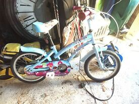 Girls bikes x2 age 4-6
