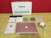 Apple MacBook Aluminium body great condition