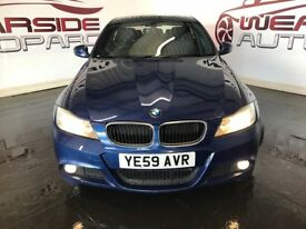 BMW 3 SERIES 2.0 318d M Sport 4dr (blue) 2009