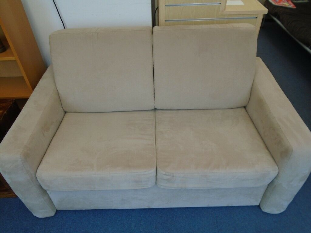 Awesome Beige Sofa Bed At Haven Housing Trusts Charity Shop In Basford Nottinghamshire Gumtree Download Free Architecture Designs Ogrambritishbridgeorg
