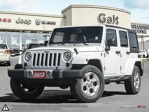2013 Jeep Wrangler Unlimited SAHARA | HANDS FREE | LEATHER |