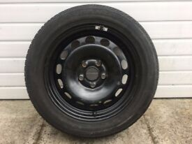 ** Brand New & Unused Spare Wheel 205 55 16 5 Stud Skoda Volkswagen Seat Audi **