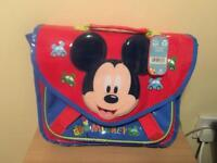 Mickey Mouse bag with tags