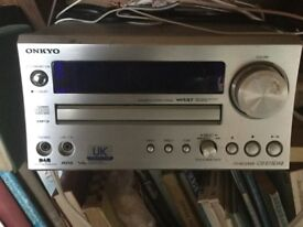 Onkyo dab receiver and cd player