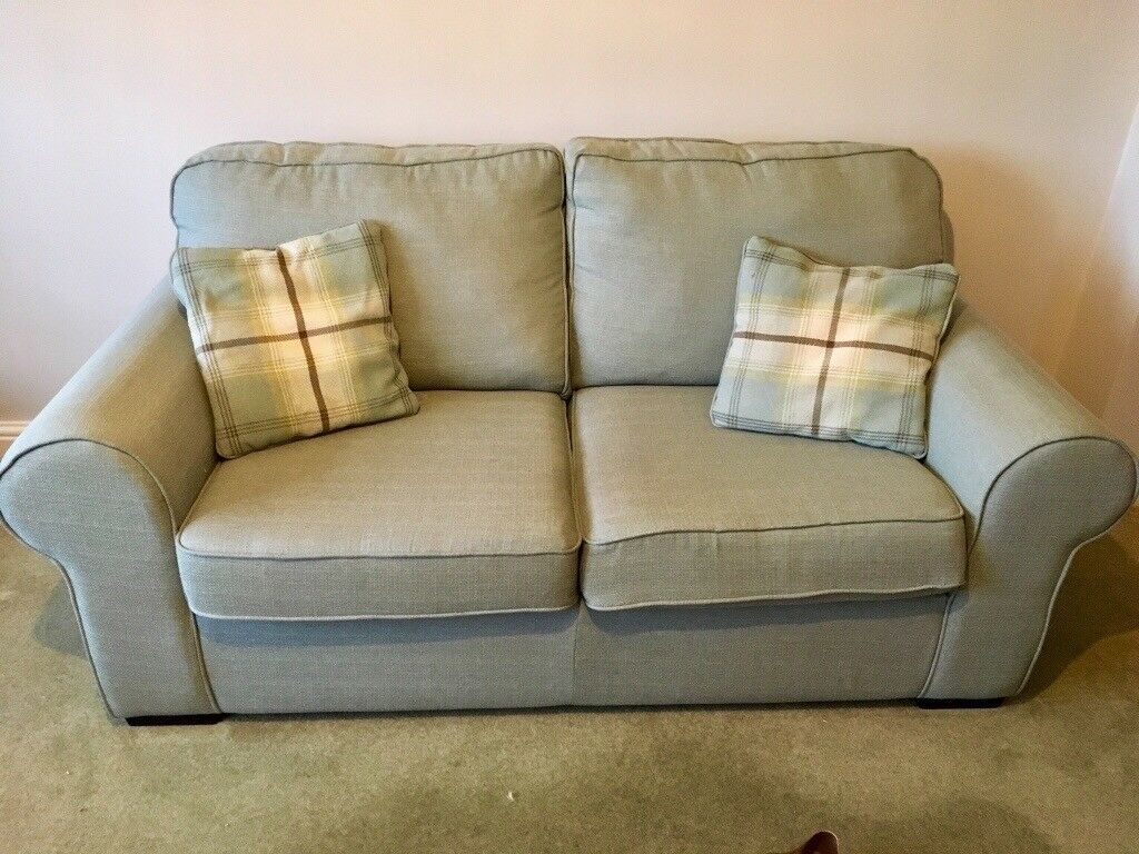 Duck Egg Blue Sofa 2 Seater