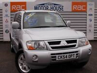 Mitsubishi Shogun (EQUIPPE WARRIOR LWB DI-D) FREE MOT'S AS LONG AS YOU OWN THE CAR!!! (silver) 2004