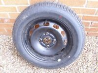 ford fiesta 4 stud 175x65x14 tyre and wheel
