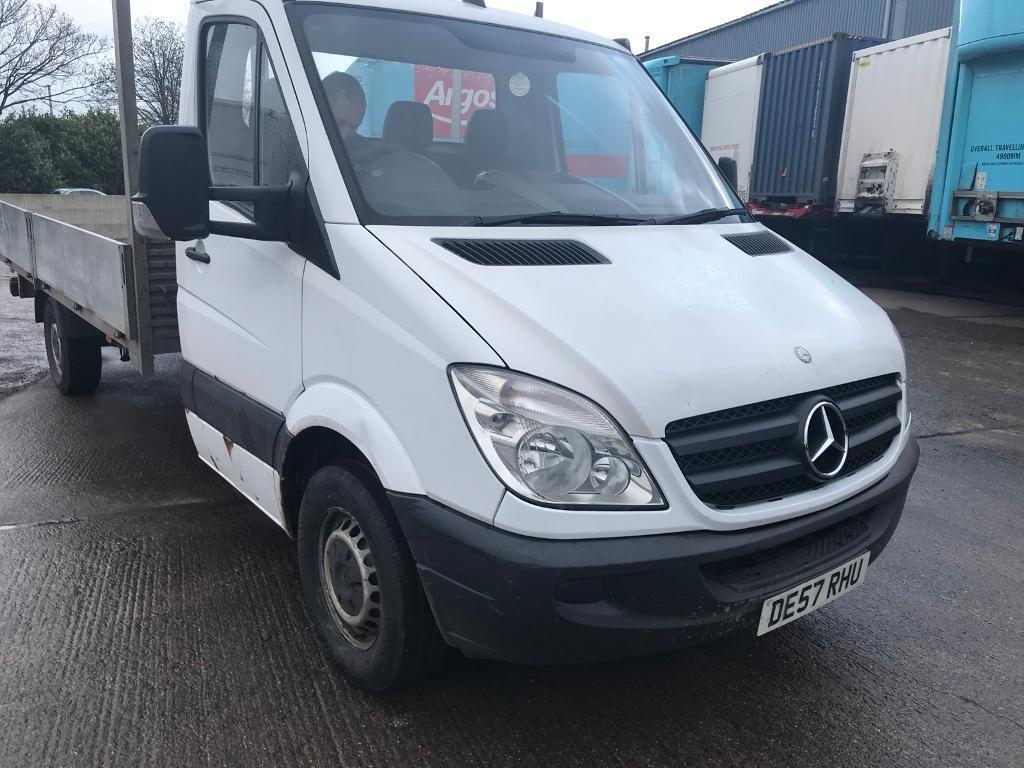 Mercedes sprinter pick up alloy body 57 plate 2.2CDI 6 speed