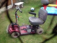 Spares or repairs mobility scooter