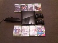 Used Xbox 360 Very good condition Xbox Kinect 2 controllers 9 games