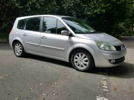 Renault grand scenic dynamique 1.9 dci 6 speed 1 owner fsh new mot no advisories