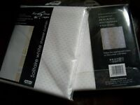 Brand new Aqualona shower curtains - 1 pair