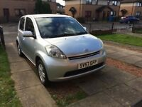Daihatsu Sirion 2007 Road Tax £30 a year