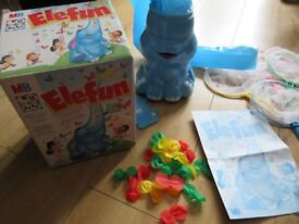 BEAUTIFUL ELEFUN GAME - IMMACULATE & COMPLETE with instructions - NOW ONLY £7.50