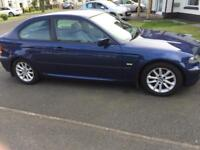 BMW 316ti Compact Full MOT and low mileage