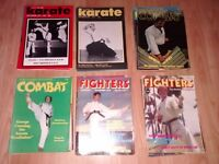 40 x karate , martial arts magazines / book / 70's /80's - bruce lee chuck norris