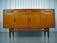 G-Plan Fresco Sideboard Designed By V.B. Wilkins, 1960's