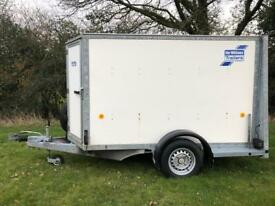 Ifor Williams BV84G 2007 Box Trailer Tow A Van Camping Carboot Trailor 1400KG