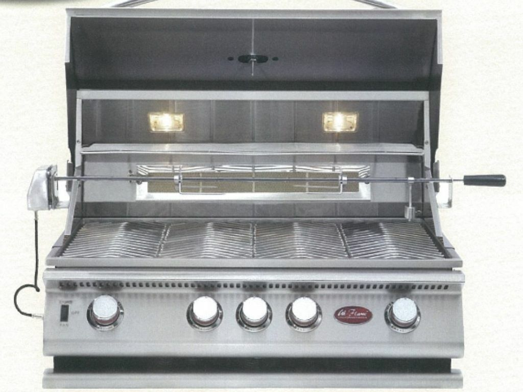 Cal Flame BBQ Built In Grills P 4 BURNER - LP BBQ18P