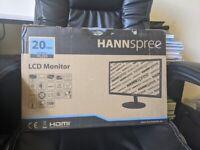 HANNSPREE HL205 Monitor - Brand NEW