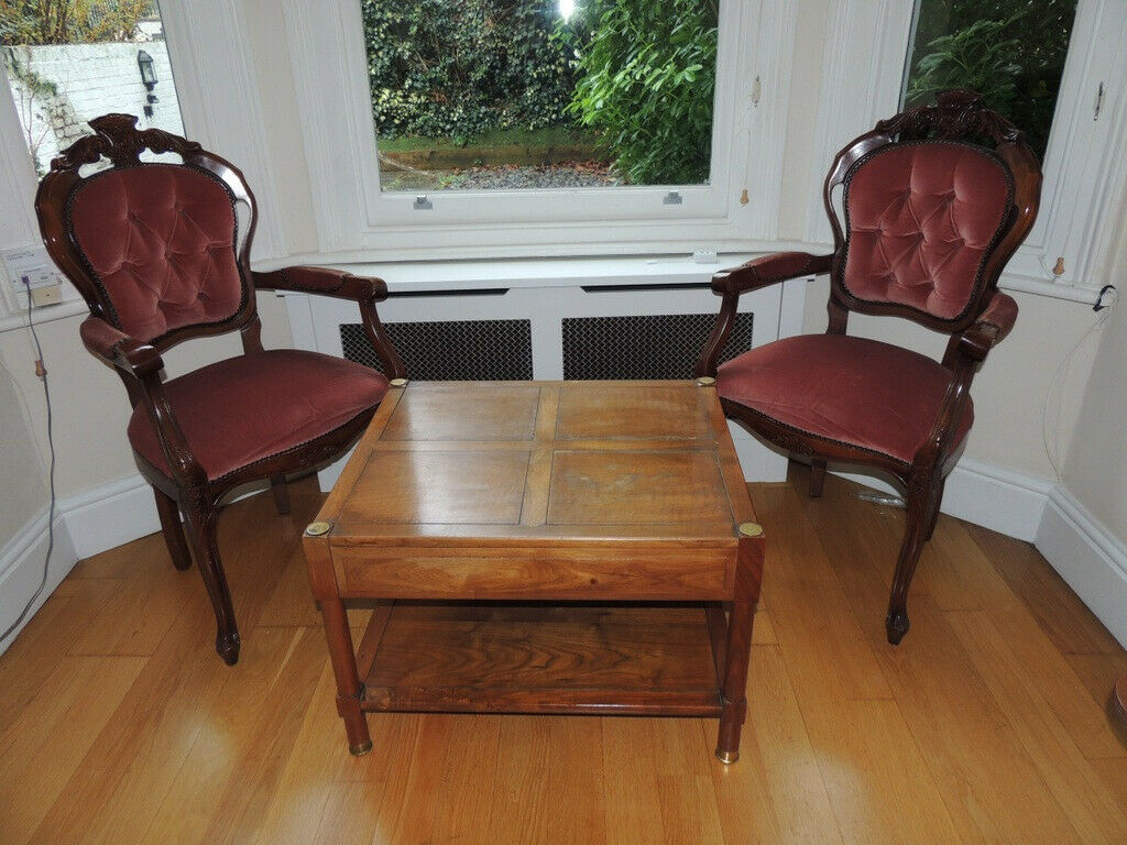 Living Room Set 2 Chairs Coffee Table Uk Delivery In Lewisham London Gumtree