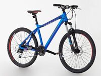Brand NEW Mountain bikes For SALE £215 Hi-spec blue