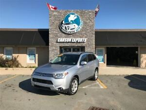 2014 Mitsubishi Outlander CLEAN SE! $129.00 BI-WEEKLY+TAX!