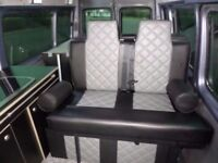 NEW ROCK AND ROLL CAMPERVAN BEDS WITH 3 POINT SEATBELTS