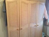 Set of wardrobes, two bedside cabinets and tall cabinet.